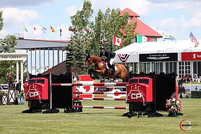Robin de Ponthual and Peter Lutz Win $375,000 CP Grand Prix CSI5* at Spruce Meadows