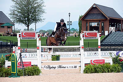 Shane Sweetnam and Cyklon 1083 Top $35,000 1.50m Suncast Welcome at TIEC