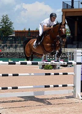 Sharn Wordley and Famoso D Ive Z Win $35k Horseware Ireland 1.45 Opener at Tryon Spring 7