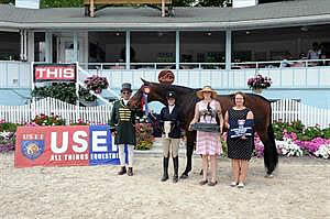 Kurtz and Seek Capture Grand Champion Titles at US Junior Hunter National Championship East Coast