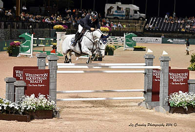 Samuel Parot and Dazzle White Win $130k Wellington Equestrian Realty Grand Prix CSI 3* at Tryon