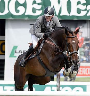Philipp Weishaupt and Chico 784 Win Progress Energy Cup at Spruce Meadows