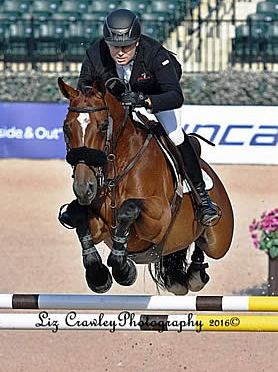 Famoso D Ive Z and Sharn Wordley Set Tone in $35k 1.45m Horseware Ireland Opener at Tryon
