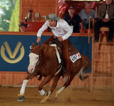 Consolation Provides Riders a Chance in FEI World Reining Championships for Seniors Individual Competition