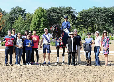 Buffini and Barton Claim Final Titles of the 2016 U.S. Dressage Festival of Champions