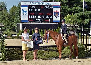 Roll Call Earns Small Regular Hunter Pony Crown at 2016 US Pony Finals