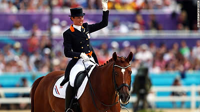 Olympic Rider Adelinde Cornelissen Quits Rio 2016 after Horse Falls Ill