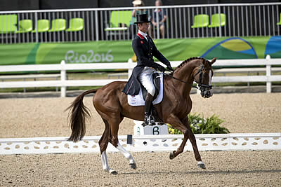 Fox-Pitt Forges the Early Lead in Olympic Eventing