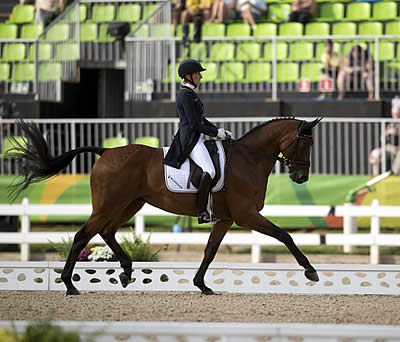 Klimke Secures Narrow German Lead in Olympic Eventing ahead of Cross-Country