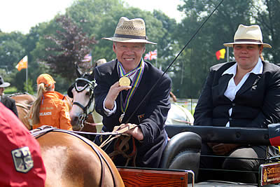 Dutch Claim Gold on Home Soil in FEI World Para Driving Championships