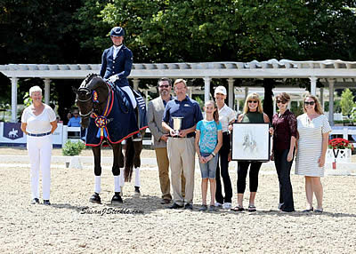 Ots and Karol Named Champions at Young & Developing Horse Dressage National Championships