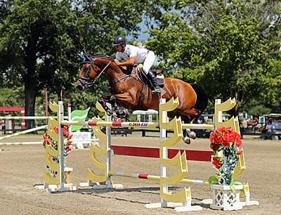 Manuel Torres Conquers the $30,000 Purina Animal Nutrition Grand Prix at HITS Culpeper