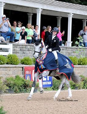 Davis and Upchurch Earn Titles, Irons Leads Pony Rider Division at US Dressage Festival of Champions