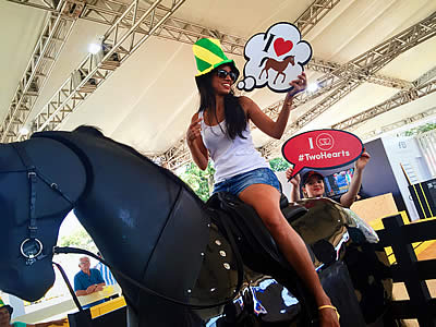 FEI Reaches Out to New Olympic Equestrian Sports Fans at Rio 2016