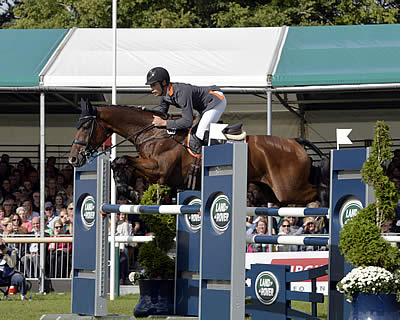 Christopher Burton Fulfils Burghley Dream