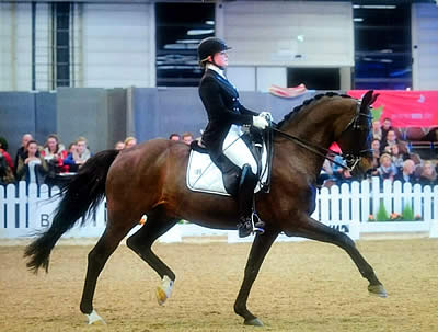 Don Angelo Helps Young German Rider Excel in European Under 25 Tour