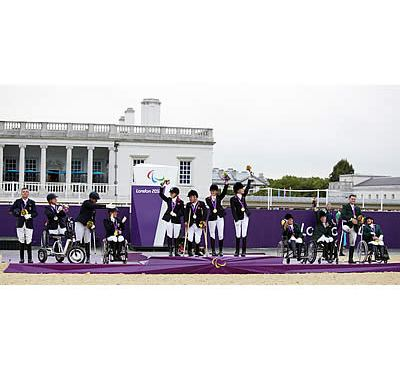 Para-Equestrians from 29 Nations across the Globe Prepare to Do Battle for Paralympic Medals