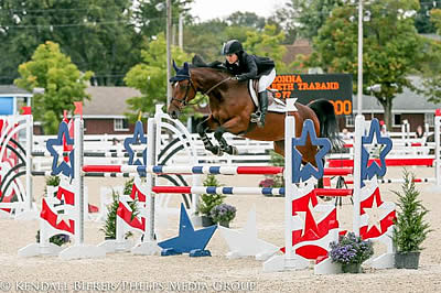 USHJA Horse of the Year Jumper Championship Wins for Traband and Rudershausen