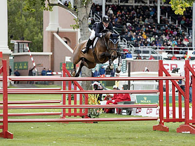 McLain Ward Takes Second after Thrilling Jump-Off in the CP International Grand Prix