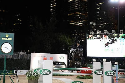 Ward and HH Carlos Z Win $40k US Open Canadian Pacific Speed Class at Central Park Horse Show