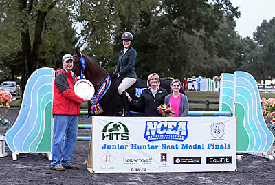 Coaches from Five NCAA Collegiate Teams Attend the NCEA Junior Hunt Seat Medal Final