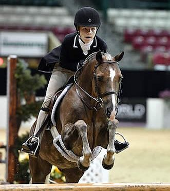 Sophie Gochman Repeats Top Performance as Grand Pony Hunter Champion at Capital Challenge
