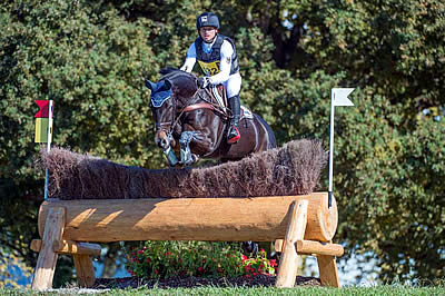 Michael Jung Holds Cross Country Lead at Pau