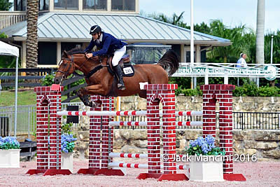Gustavo Prato and Carna Z Take $7,000 Open Stakes during ESP Fall I at PBIEC