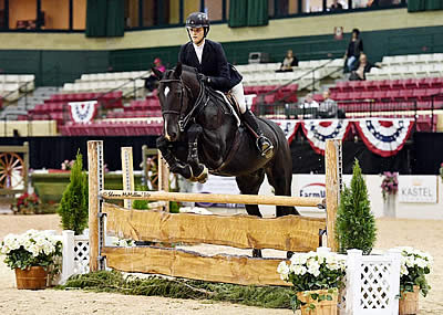 Katherine Strauss Wins Private Tutoring Services North American Jr. Equitation Championship