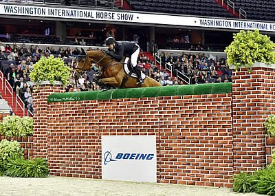 Ward and Vale Clear Seven Feet to Tie for Victory in $25,000 International Jumper Puissance