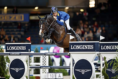 Ahlmann Steers Taloubet to Another Sweet Success in Stuttgart