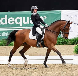 Leach and Mason Earn First Two Championship Titles Presented at US Dressage Finals