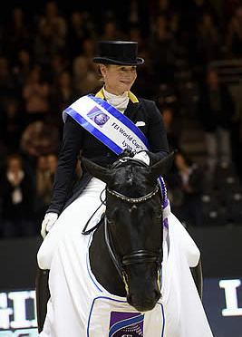 Isabell Werth and Weihegold Old New World Dressage Number One