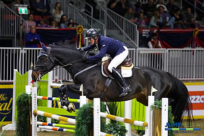 Jeff Brandmaier and Caliana Named Royal Horse Show and Canadian 1.40m Jr./Am. Champions
