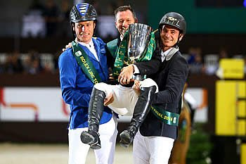 Eric Lamaze Wins Rolex Top Ten Final in Geneva