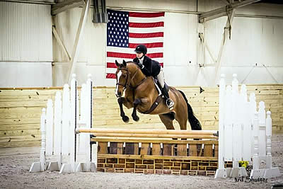 Leanna Lazzari Scores Second Consecutive Royal Horse Show Championship