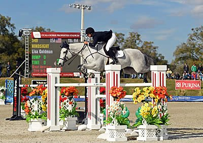 Lisa Goldman Conquers the $50,000 Equioxx Grand Prix at HITS Ocala Week II