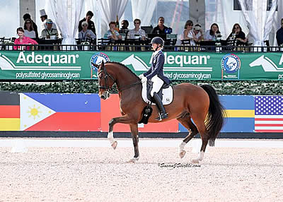 Laura Graves and Verdades Victorious as Week 3 Kicks Off at AGDF