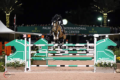 Eric Lamaze and Fine Lady 5 Win $130,000 Adequan Grand Prix CSI 3* at WEF