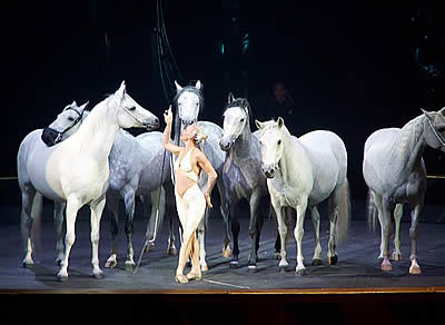 Tickets on Sale for Althea, Former Cavalia Artists, in an Evening of Enchantment