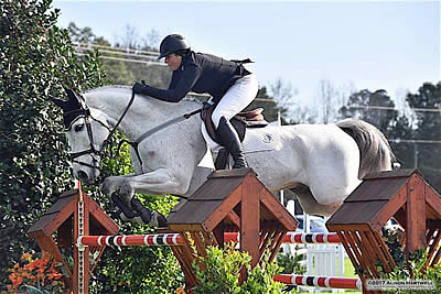 Whitney Boyce-Petrey Pilots Canebrake to 1st Grand Prix Win in $25k Domino's Grand Prix