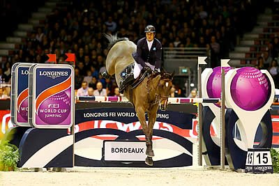 Epaillard Exceeds His Own Expectations with Brilliant Longines Win at Bordeaux