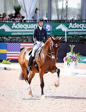 Team USA Brings Triple Threat to FEI Grand Prix CDI-W at AGDF
