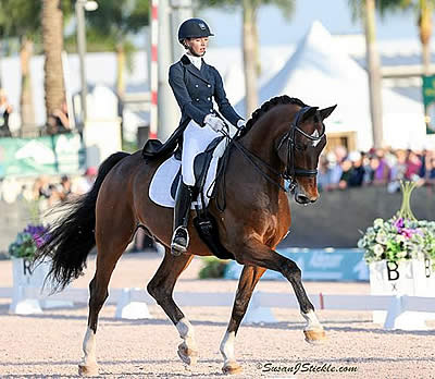 Laura Graves and Verdades Score 80% in FEI Grand Prix CDI 5* at AGDF