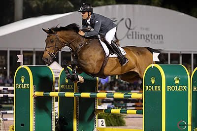 Sergio Alvarez Moya and Charmeur Win $500,000 Rolex Grand Prix CSI 5* at WEF