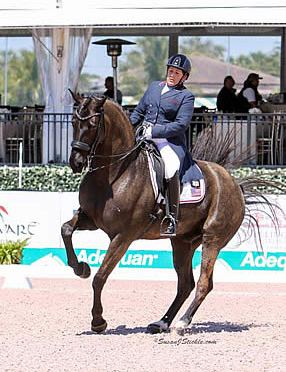 Francis and Matute Impress in AGDF 10 FEI Grand Prix Competition
