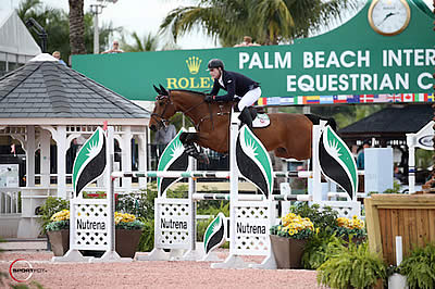 Peter Lutz Opens CSIO 4* with a Win at WEF