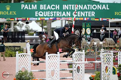 Beat Mändli and Simba Win $50,000 Engel & Völkers Grand Prix CSI 2* at WEF