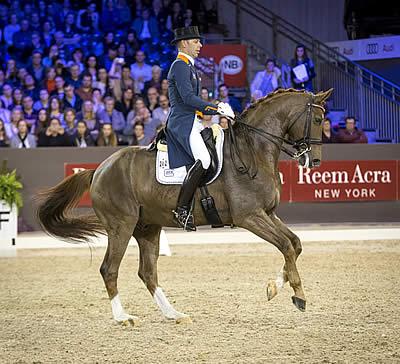 Masterful Minderhoud Wins Last Leg in 's-Hertogenbosch