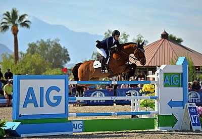 Sparks Fly for Mandy Porter and Milano Winning AIG $1 Million Grand Prix